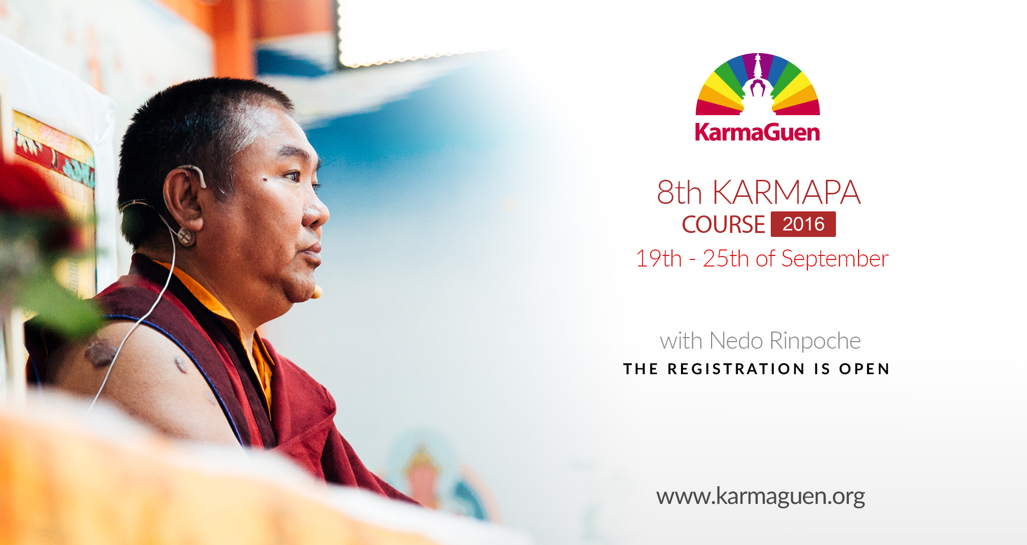 Nedo Rimpoche 8th Karmapa Course in Karma Guen