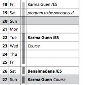 Karma Guen program