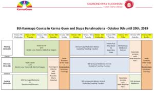 8th Karmapa 2019 program