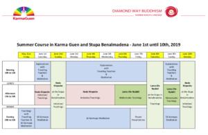 KG 2019 program